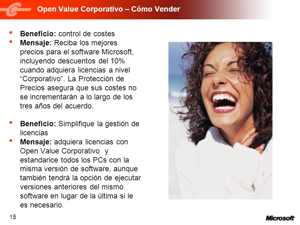 Open Value Corporativo – Cómo Vender