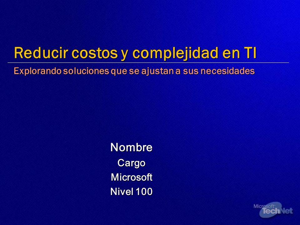 Nombre Cargo Microsoft Nivel 100