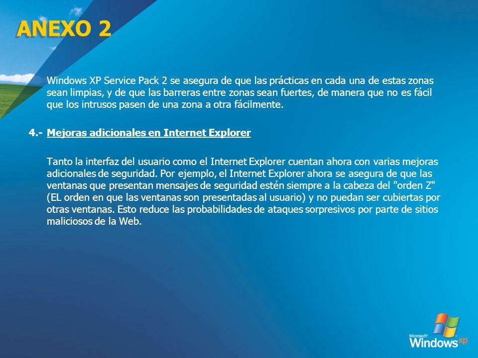 ANEXO 2 4.- Mejoras adicionales en Internet Explorer