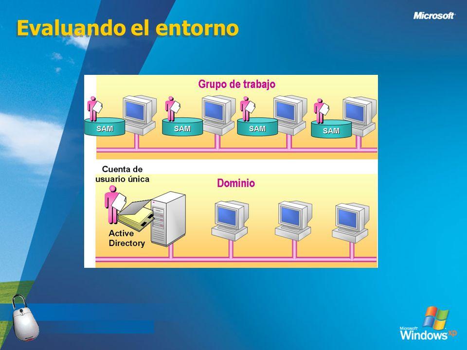 Evaluando el entorno 3/24/2017 Para una instalación en red