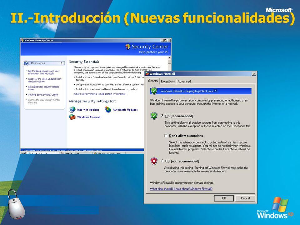 II.-Introducción (Nuevas funcionalidades)