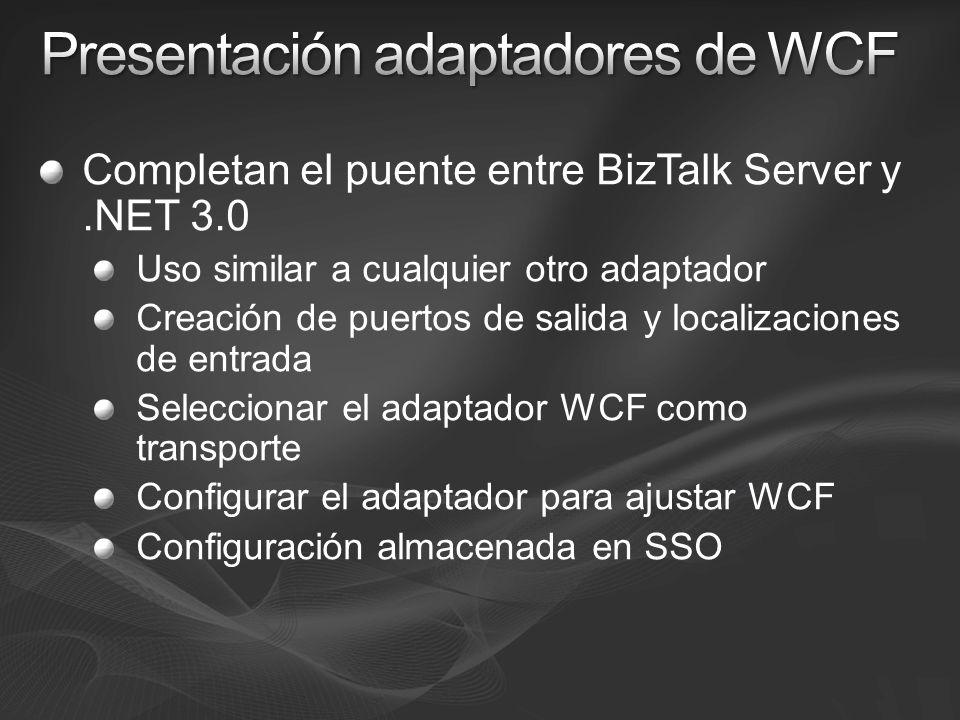 Presentación adaptadores de WCF