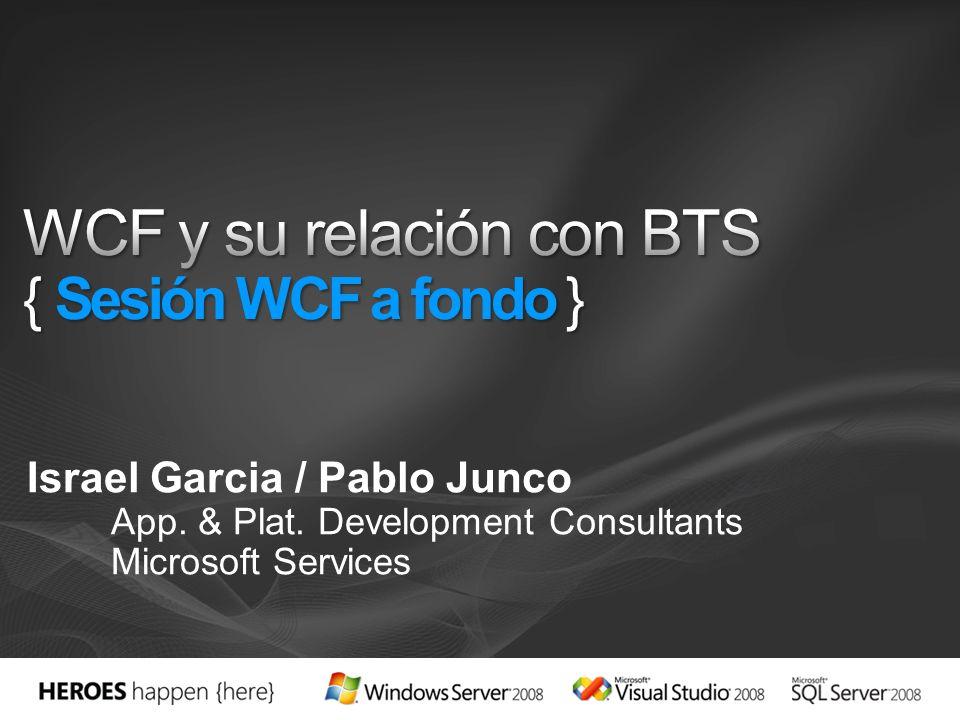 WCF y su relación con BTS { Sesión WCF a fondo }