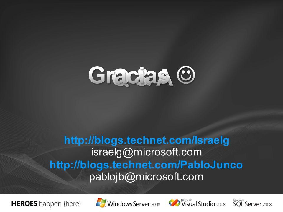 http://blogs.technet.com/Israelg israelg@microsoft.com