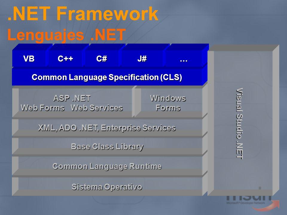 .NET Framework Lenguajes .NET