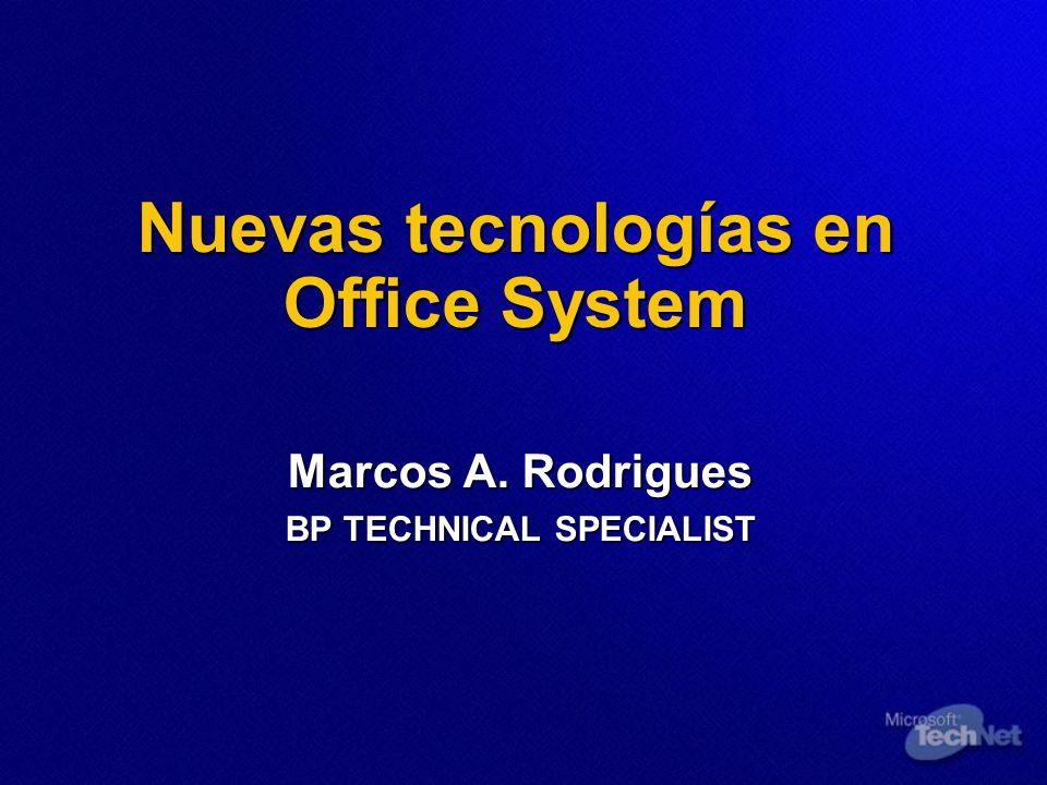 Nuevas tecnologías en Office System