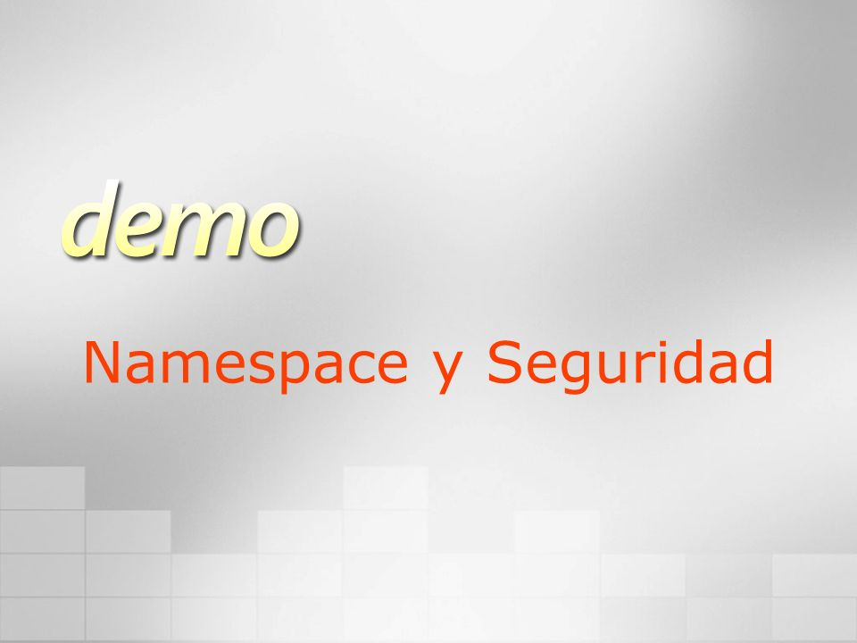 Namespace y Seguridad