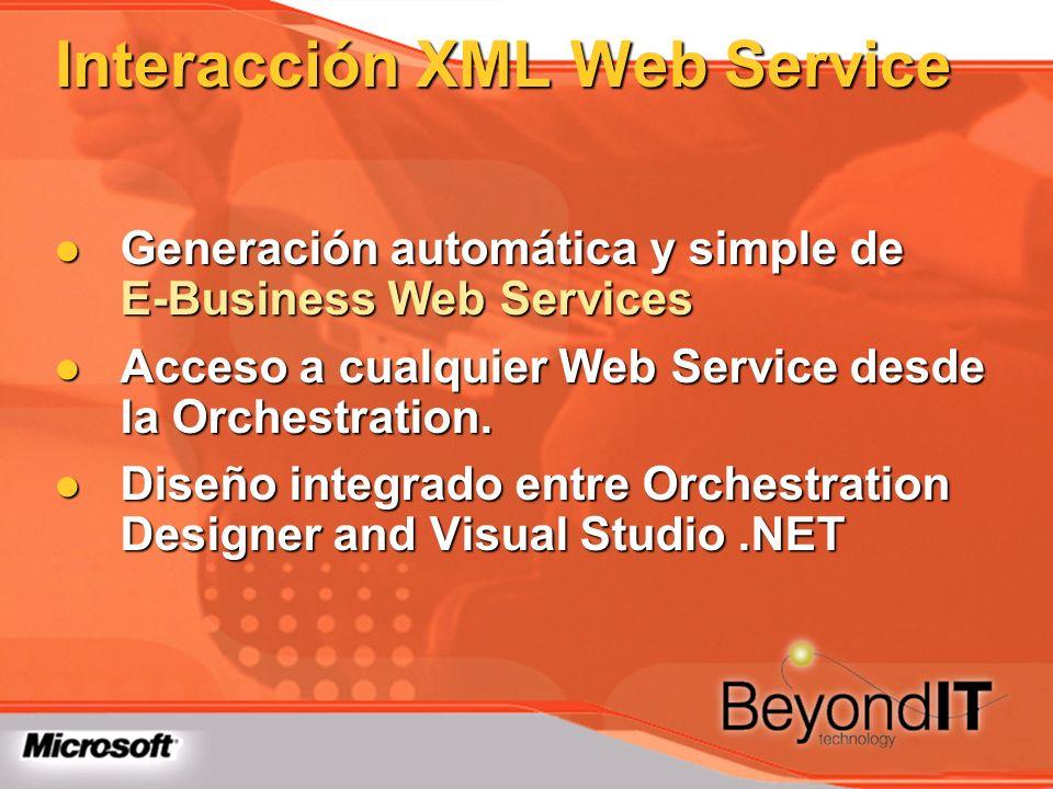 Interacción XML Web Service