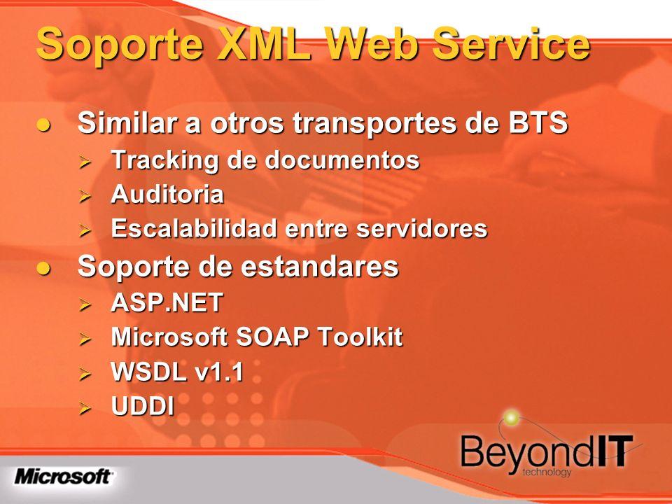 Soporte XML Web Service
