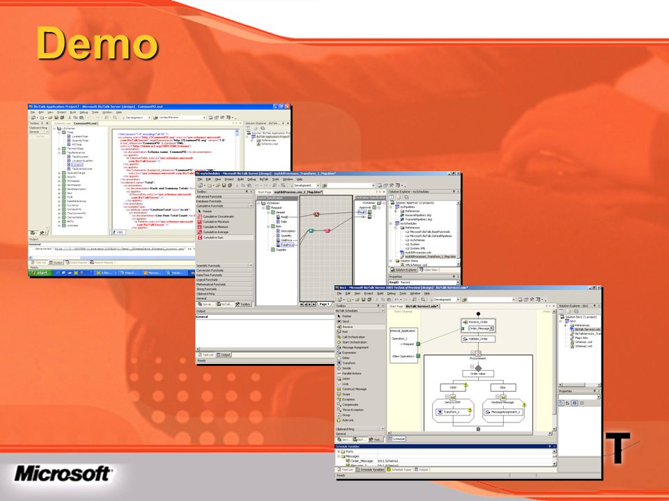 Demo TechEd 2003