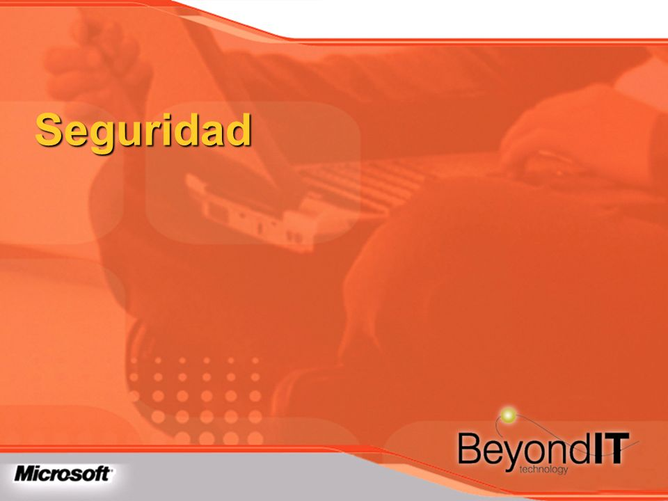 Seguridad TechEd 2003