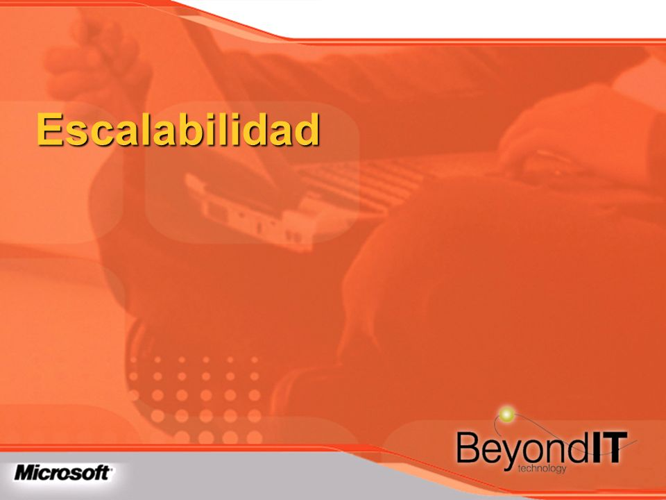 Escalabilidad TechEd 2003