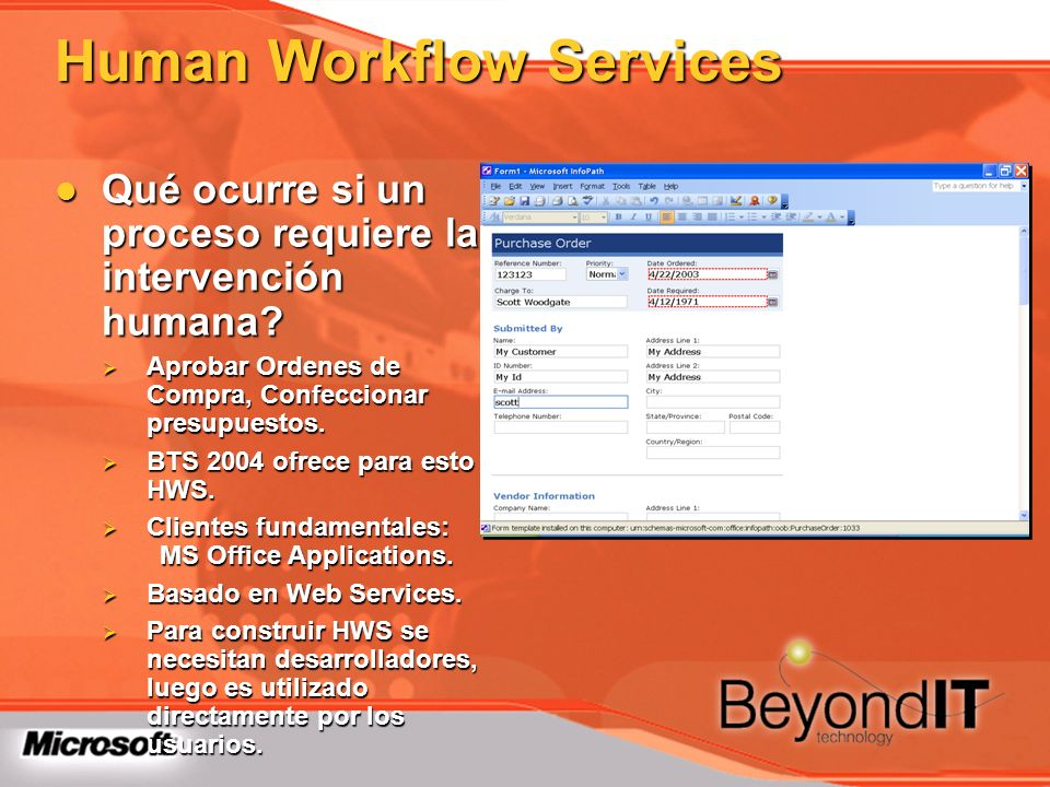 Human Workflow Services