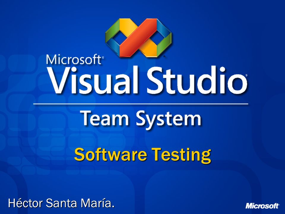 Software Testing Héctor Santa María.