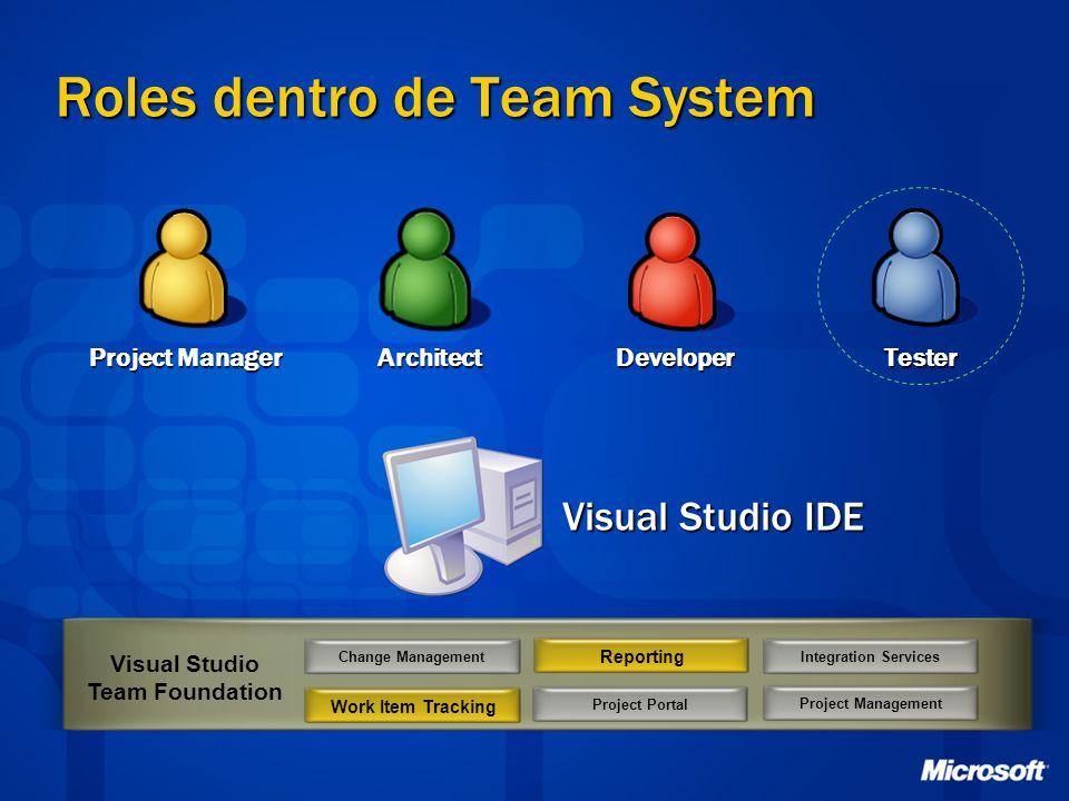 Roles dentro de Team System