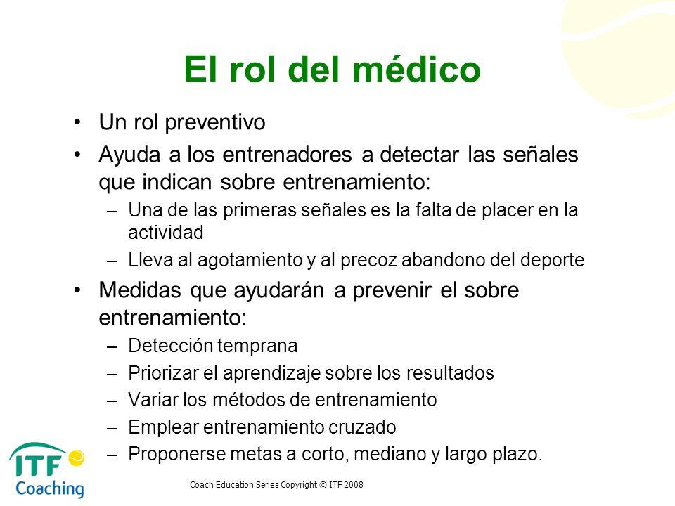 El rol del médico Un rol preventivo