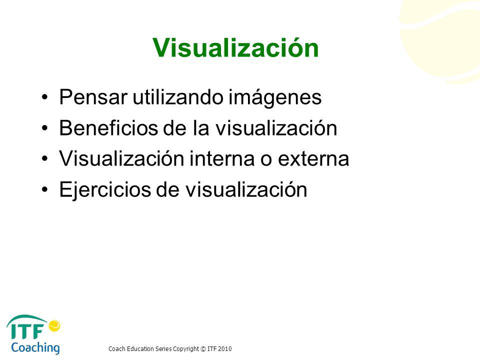 Visualización Pensar utilizando imágenes