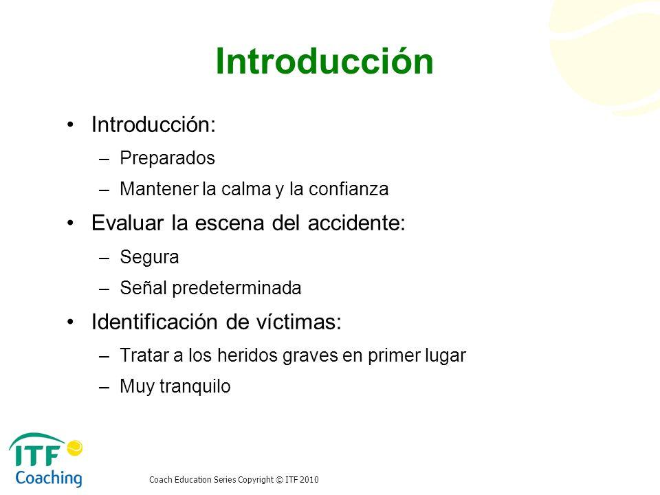 Introducción Introducción: Evaluar la escena del accidente: