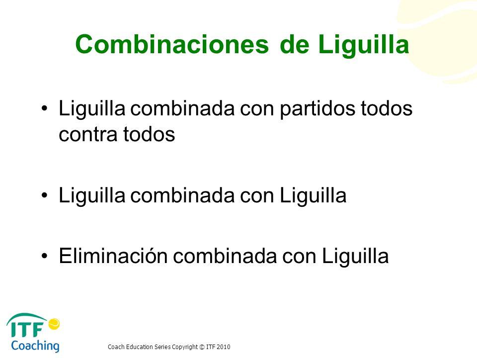 Combinaciones de Liguilla