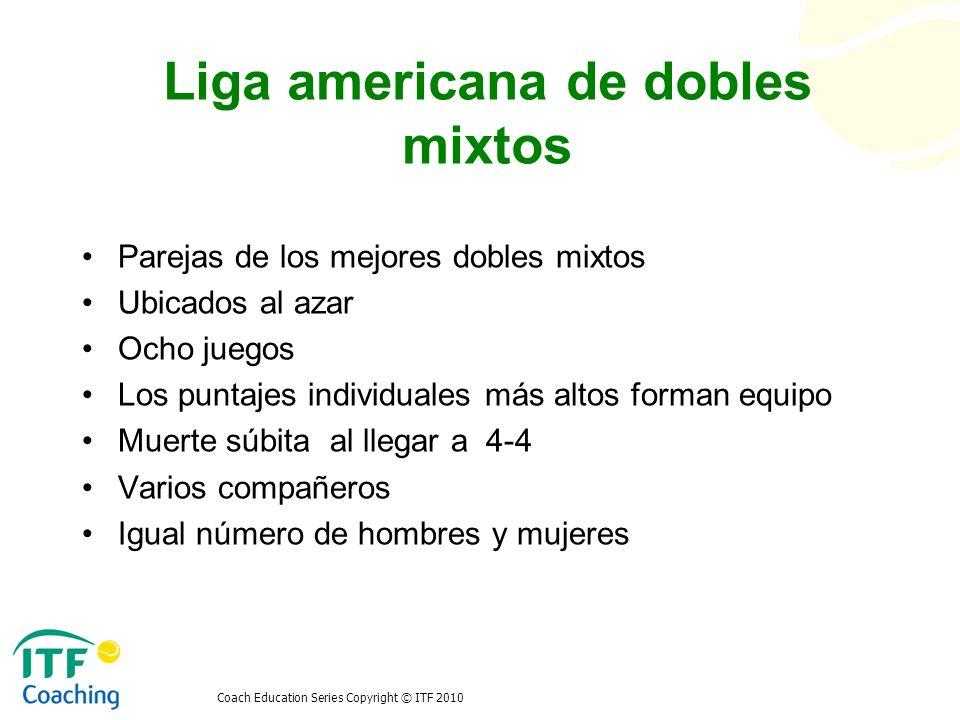 Liga americana de dobles mixtos