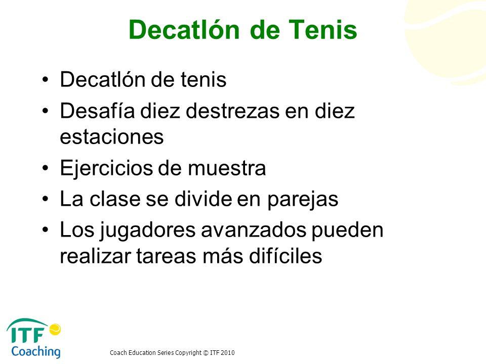 Decatlón de Tenis Decatlón de tenis