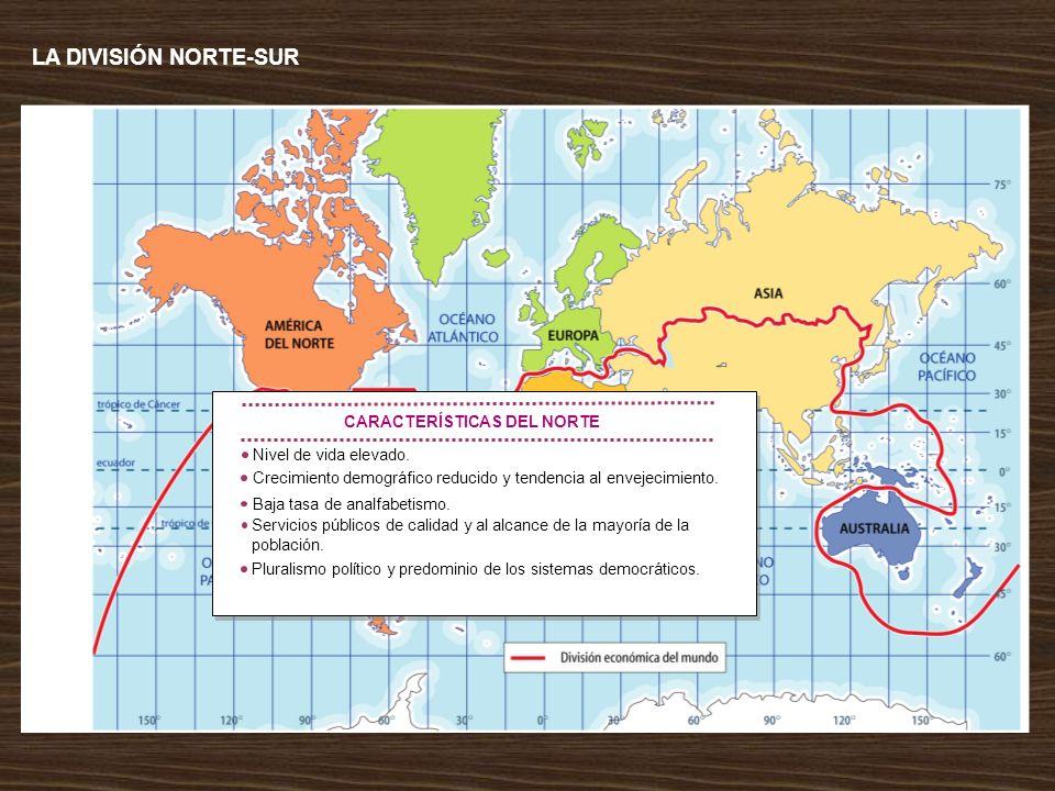 CARACTERÍSTICAS DEL NORTE