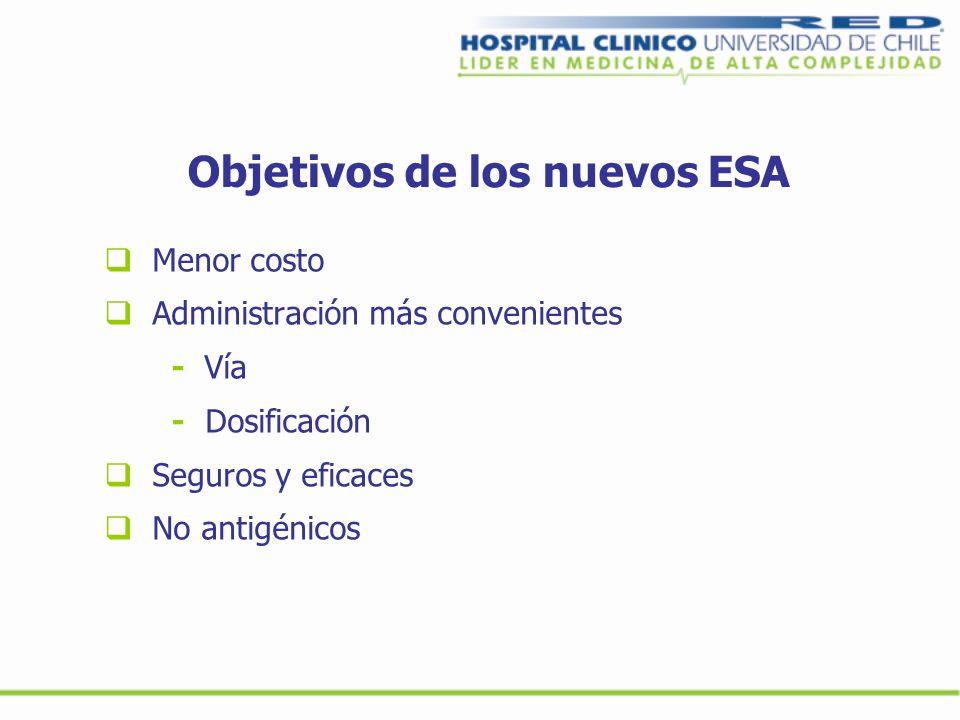 Objetivos de los nuevos ESA