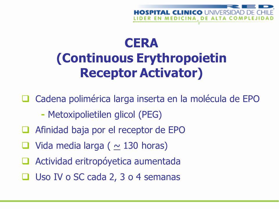 CERA (Continuous Erythropoietin Receptor Activator)