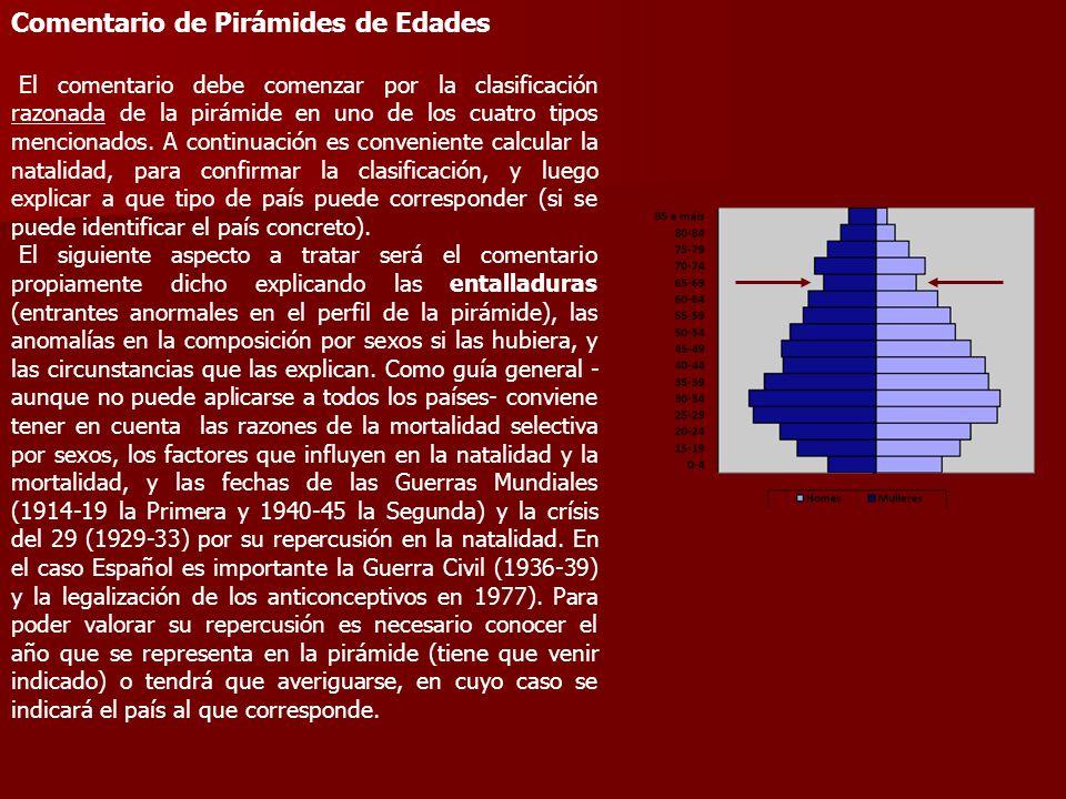 Comentario de Pirámides de Edades