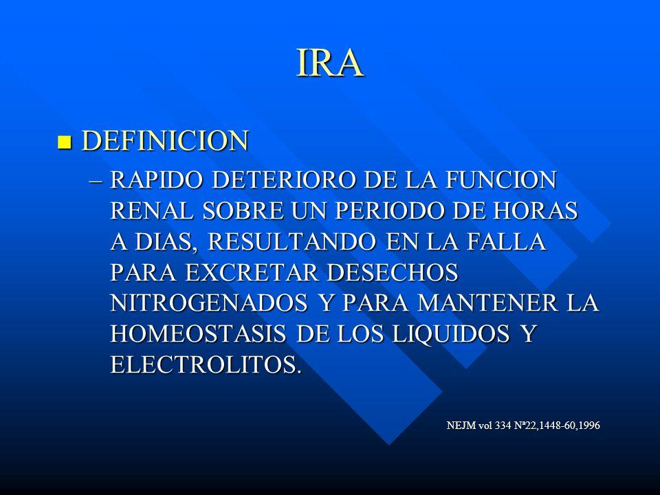 IRA DEFINICION.