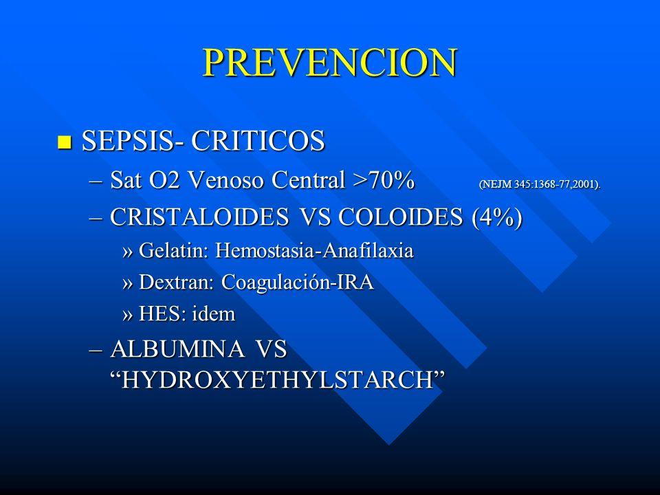 PREVENCION SEPSIS- CRITICOS