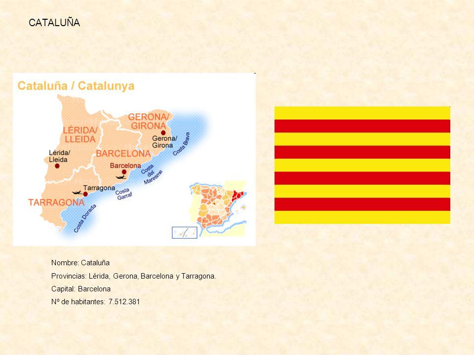 CATALUÑA Nombre: Cataluña