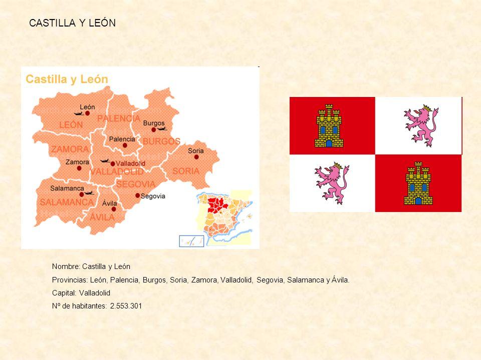 CASTILLA Y LEÓN Nombre: Castilla y León