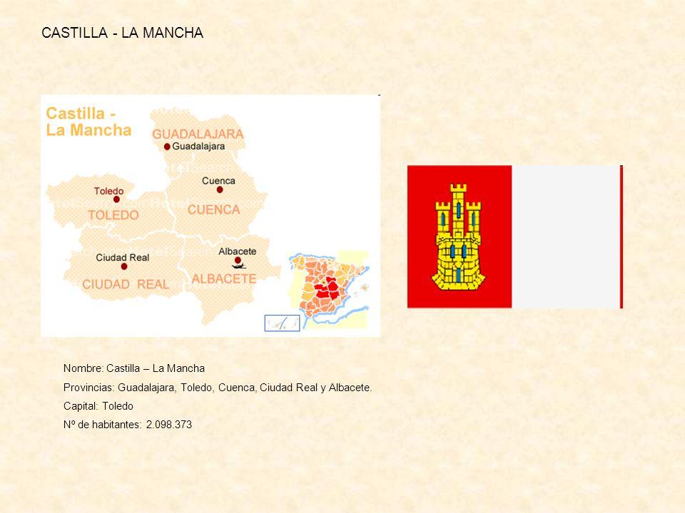CASTILLA - LA MANCHA Nombre: Castilla – La Mancha