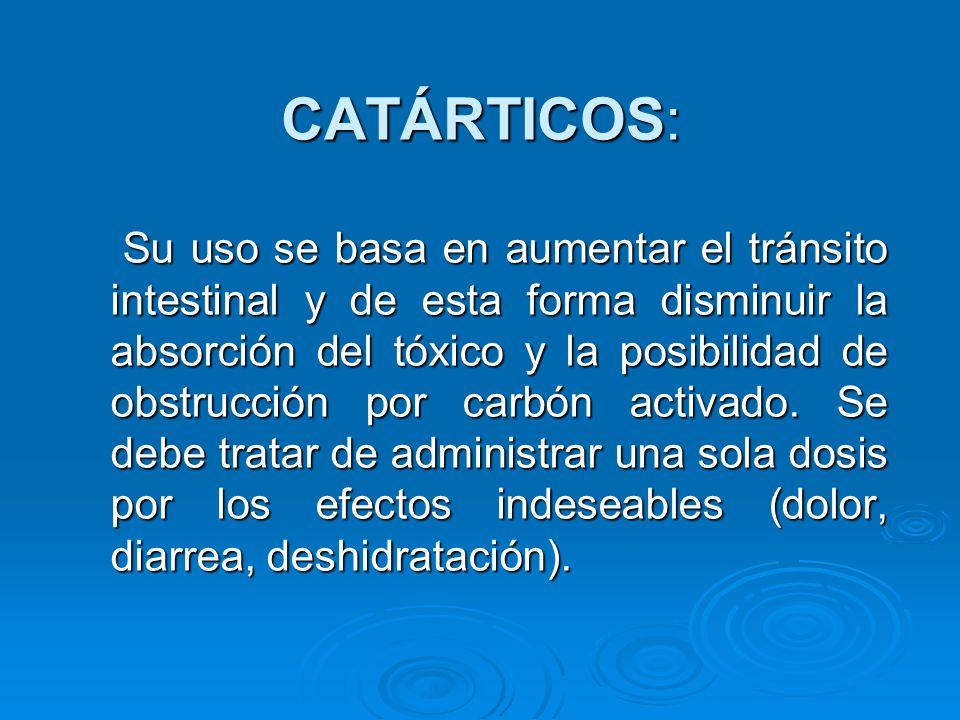 CATÁRTICOS: