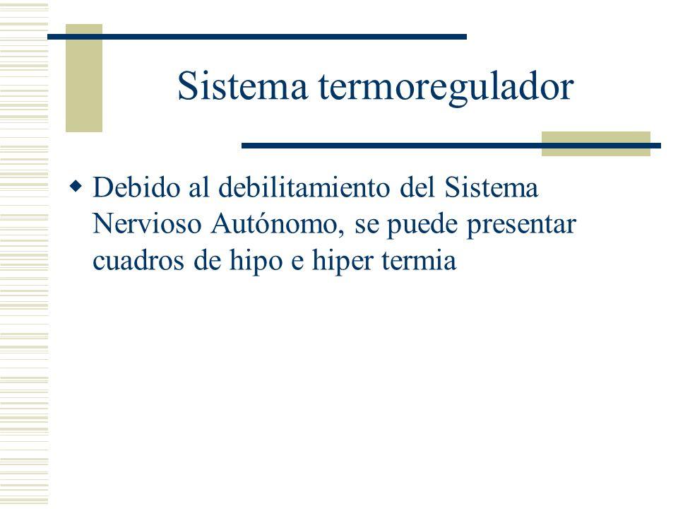 Sistema termoregulador