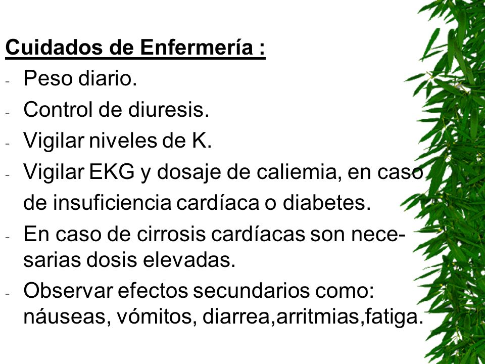 Cuidados de Enfermería :