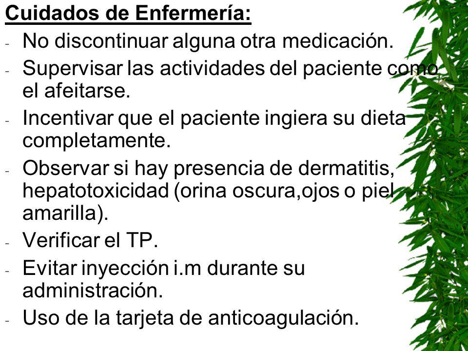 Cuidados de Enfermería: