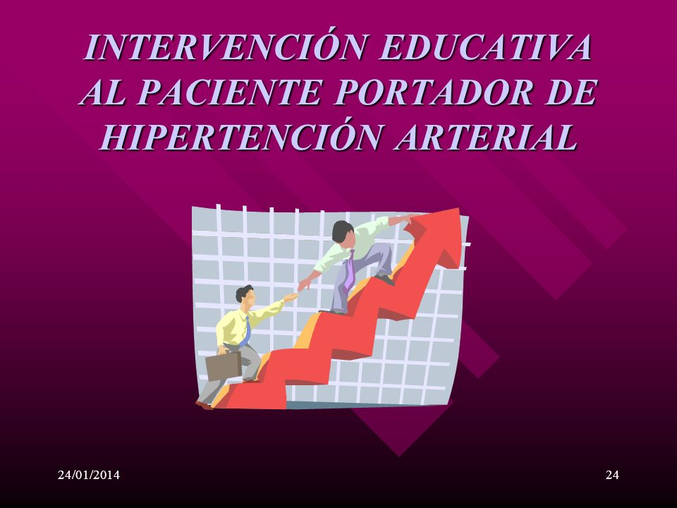 INTERVENCIÓN EDUCATIVA AL PACIENTE PORTADOR DE HIPERTENCIÓN ARTERIAL