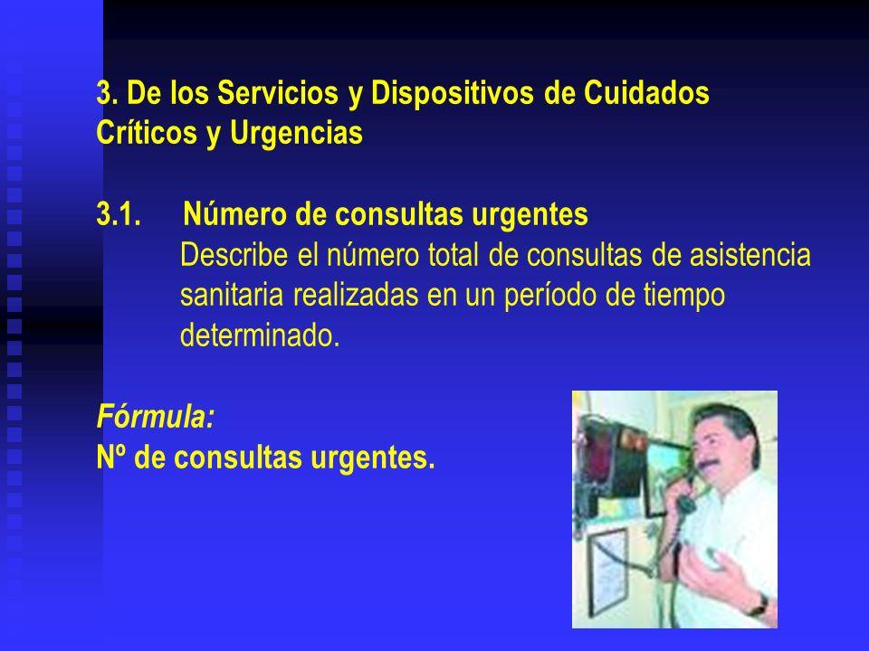 3. De los Servicios y Dispositivos de Cuidados Críticos y Urgencias 3