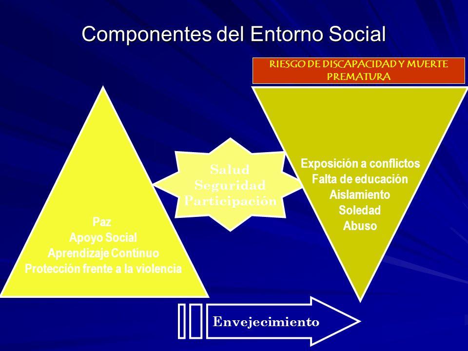Componentes del Entorno Social