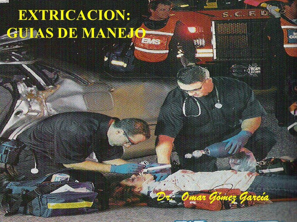 EXTRICACION: GUIAS DE MANEJO