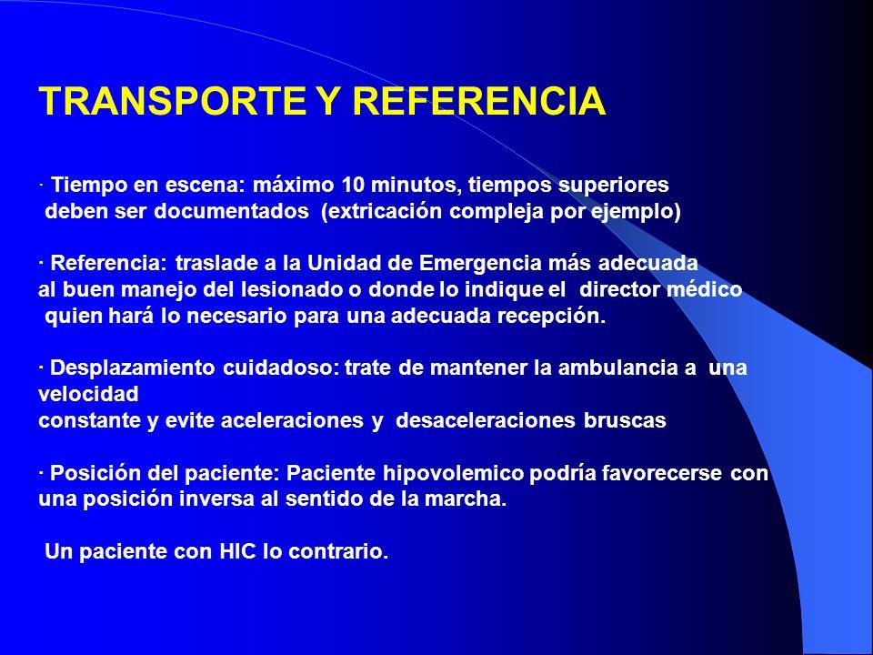 TRANSPORTE Y REFERENCIA