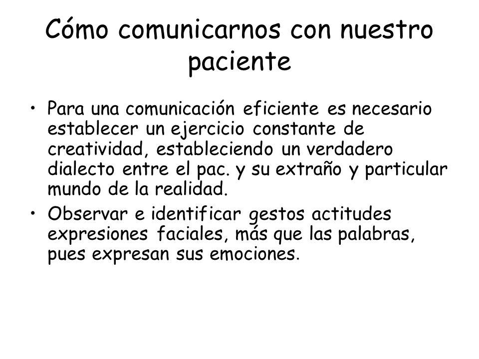 Cómo comunicarnos con nuestro paciente