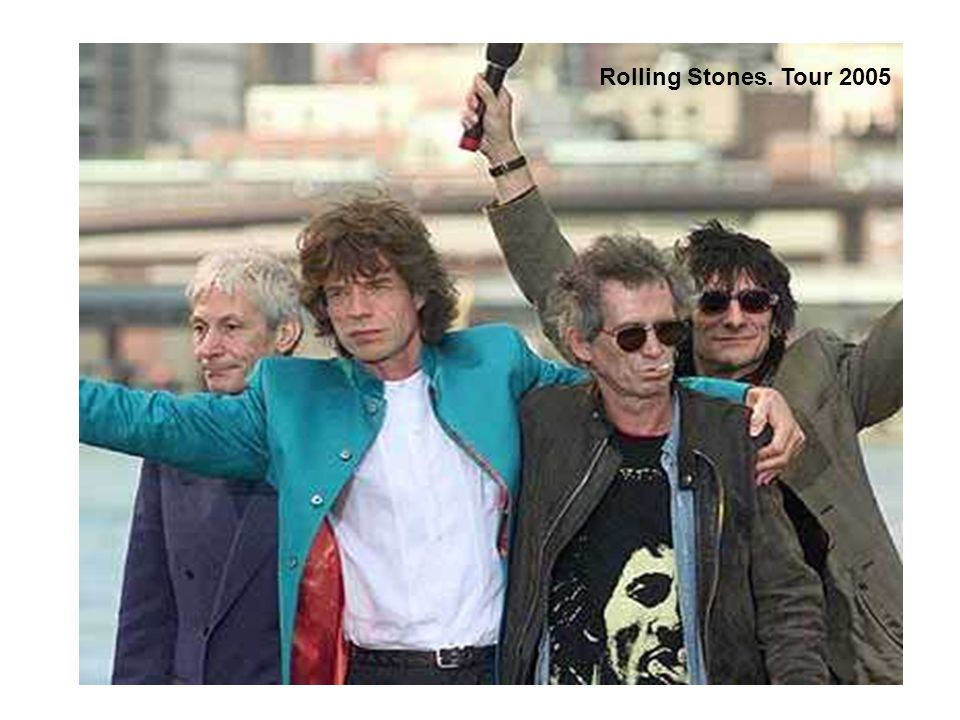 Rolling Stones. Tour 2005