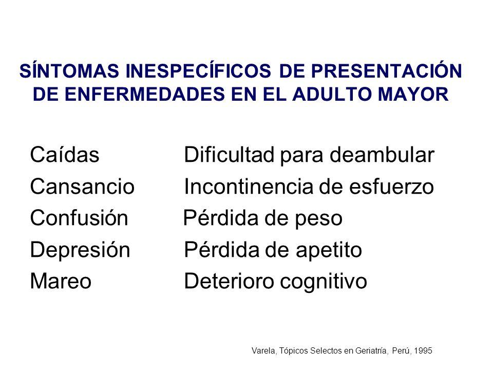 Varela, Tópicos Selectos en Geriatría, Perú, 1995