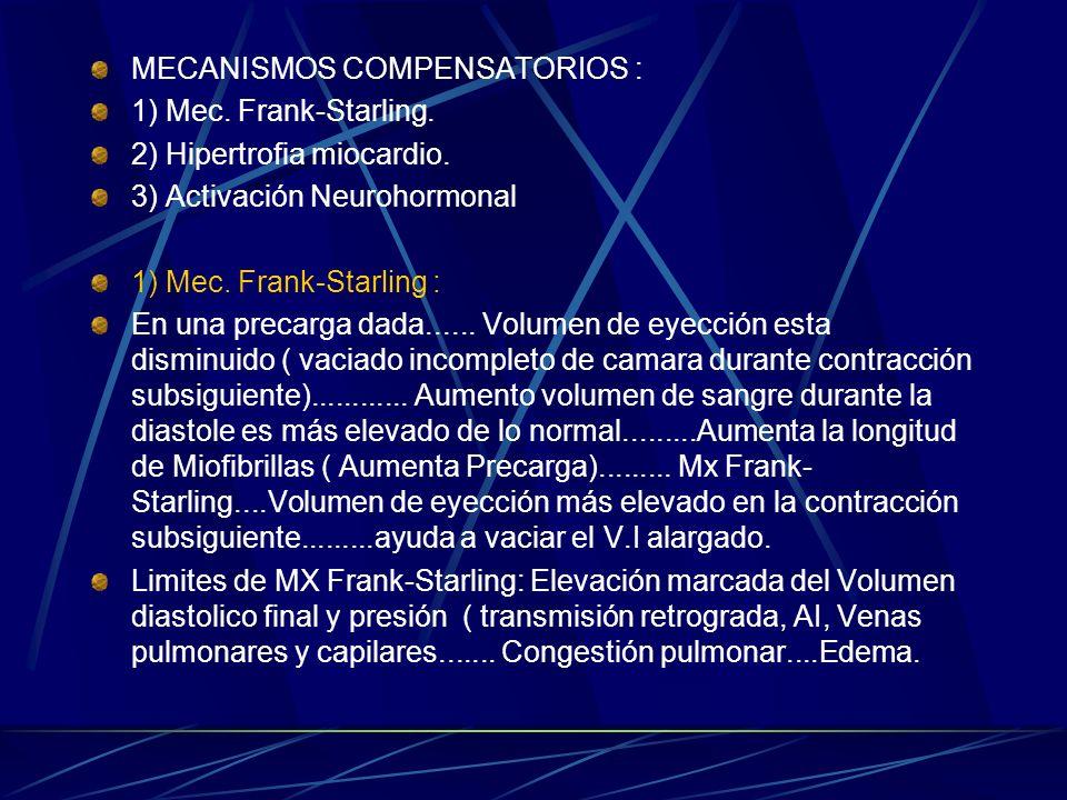 MECANISMOS COMPENSATORIOS :