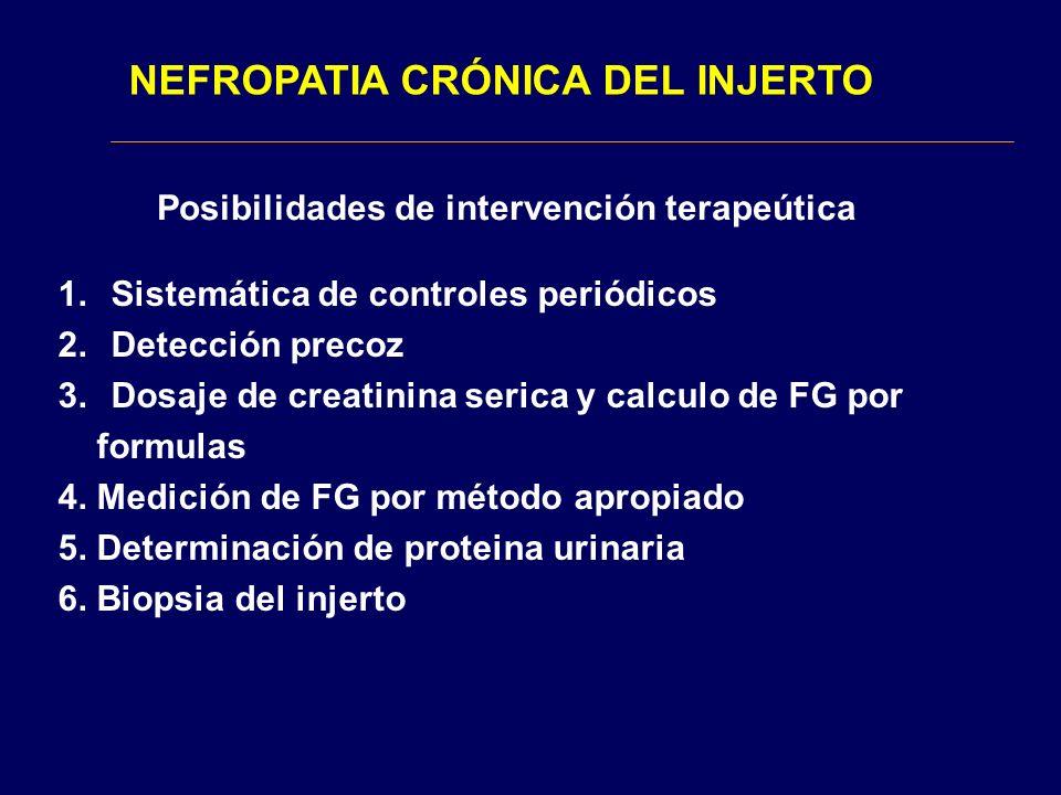 NEFROPATIA CRÓNICA DEL INJERTO