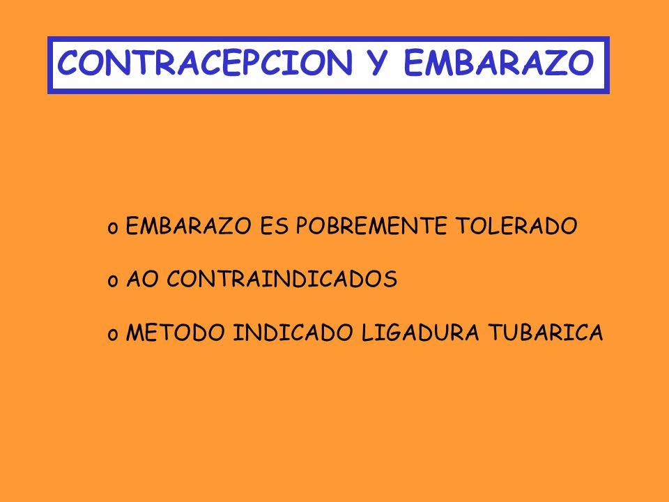 CONTRACEPCION Y EMBARAZO
