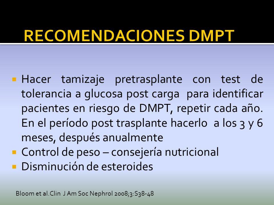 RECOMENDACIONES DMPT